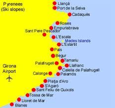 Pueblos de la Costa Brava
