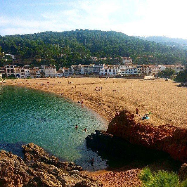 Sa Riera beach, Begur