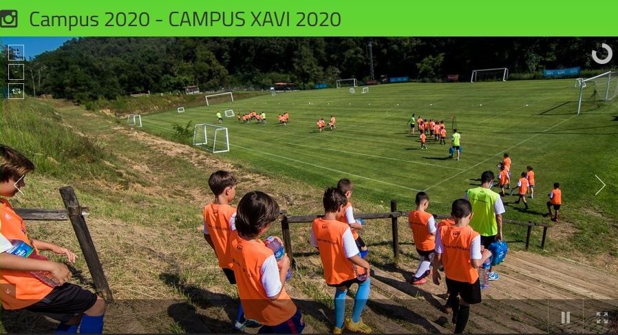 Campus de football Xavi