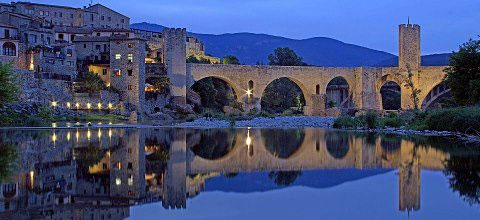 Medieval bridge of Besalu