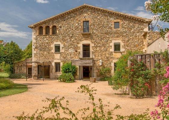 Masia Girona Catalonia Girona Pyrenees